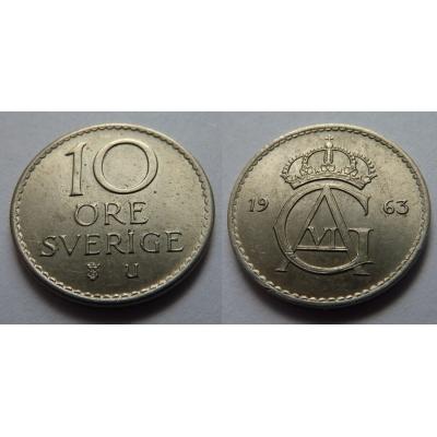 Švédsko - 10 ore 1963 U
