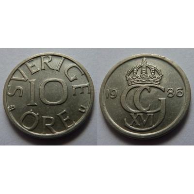 Švédsko - 10 ore 1986 U
