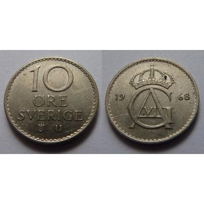 Švédsko - 10 ore 1968 U