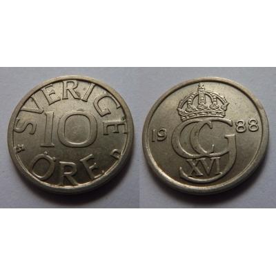 Švédsko - 10 ore 1988 D