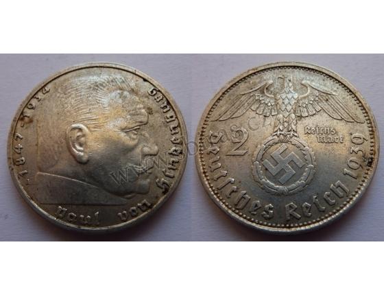 Německá říše - 2 marky 1939