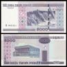 Bělorusko - bankovka 5000 rublů 2000 aUNC