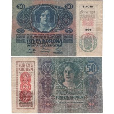 50 korun 1914