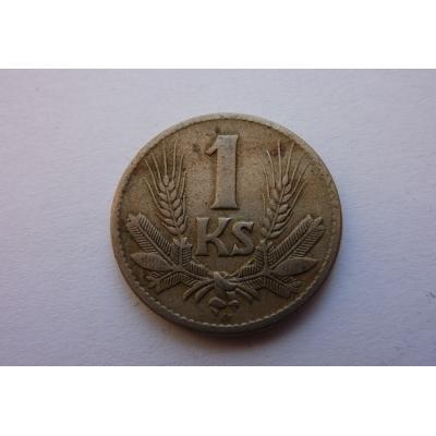 Slovenský štát- mince 1 koruna 1941
