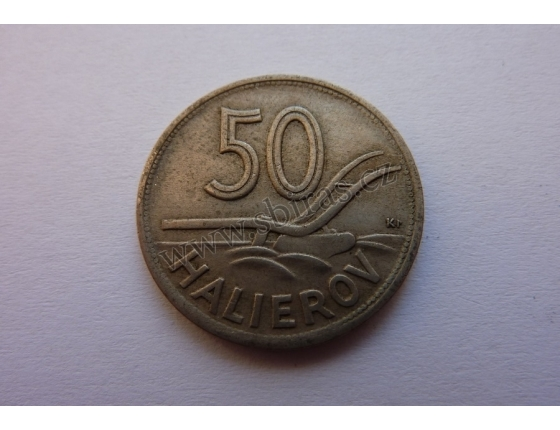 Slovenský štát - 50 halierov 1941