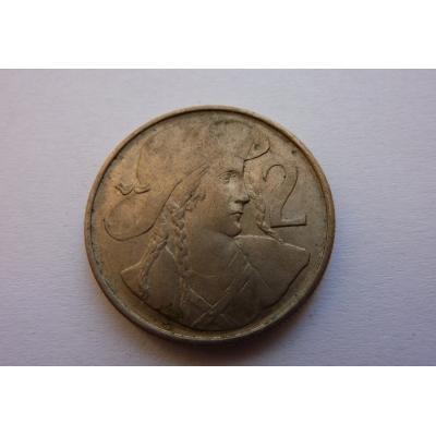 2 koruny 1947
