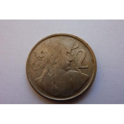 2 koruny 1948