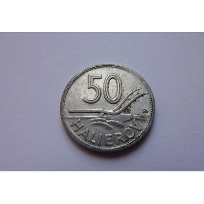 Slovenský štát - 50 halierov 1943