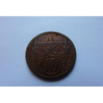 10 haléřů 1925