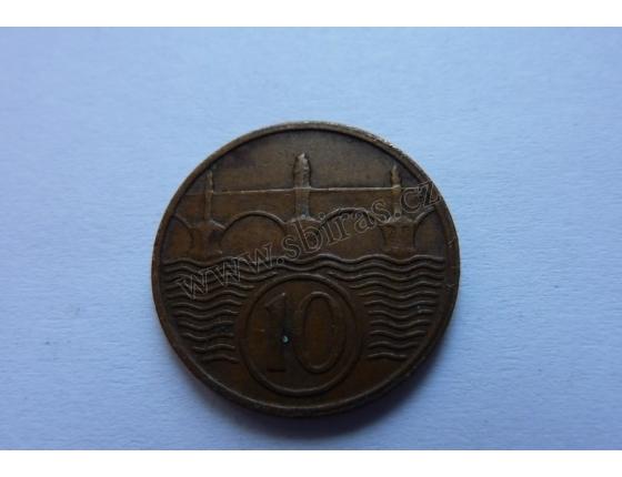 10 haléřů 1936