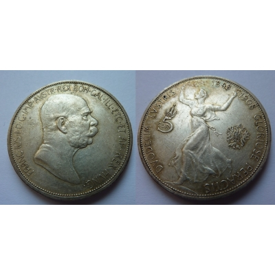 5 korun 1908