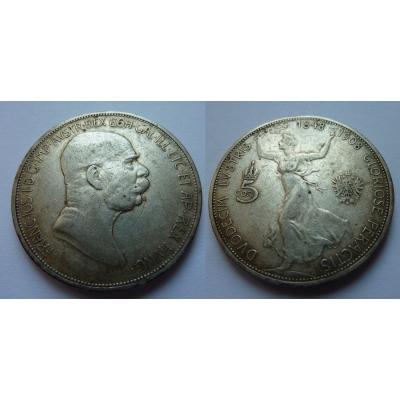 5 Corona 1908