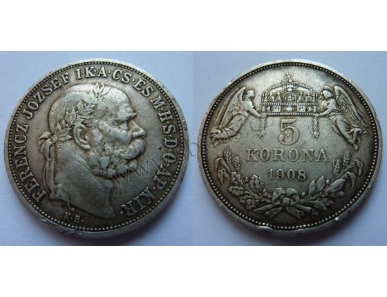 Fratišek Josef I. - 5 korun 1908