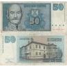 Jugoslávie - bankovka 50 dinara 1996