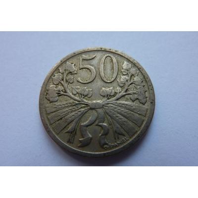 50 haléřů 1921