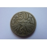 50 haléřů 1924