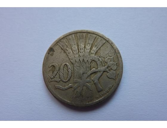 20 haléřů 1924