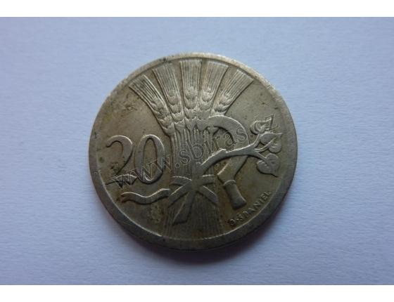 20 haléřů 1926