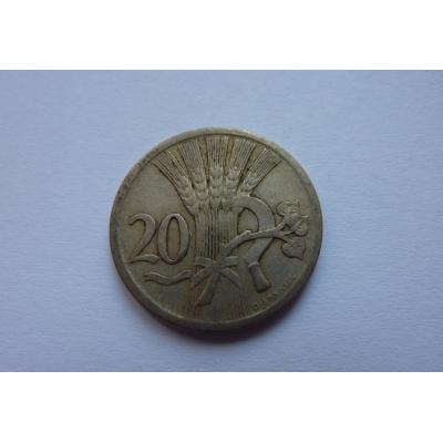 20 haléřů 1927