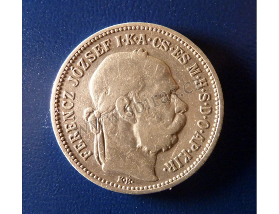 1 koruna 1893 K.B.