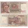 Jugoslávie - bankovka 20 000 dinara 1987
