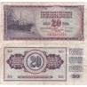 Jugoslávie - bankovka 20 dinara 1978