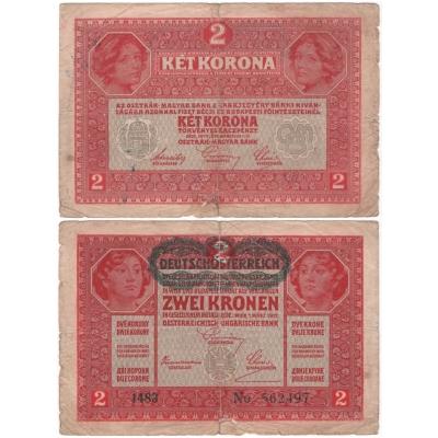 2 koruny 1917