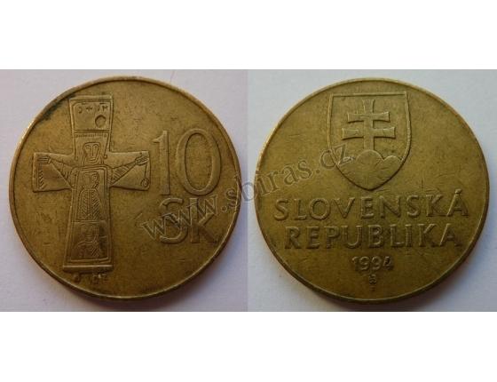 Slovensko - 10 korun 1994