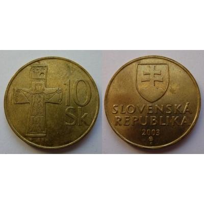 Slovensko - 10 korun 2003