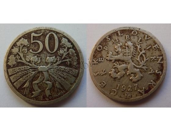 50 haléřů 1927