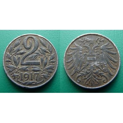 2 haléře 1917