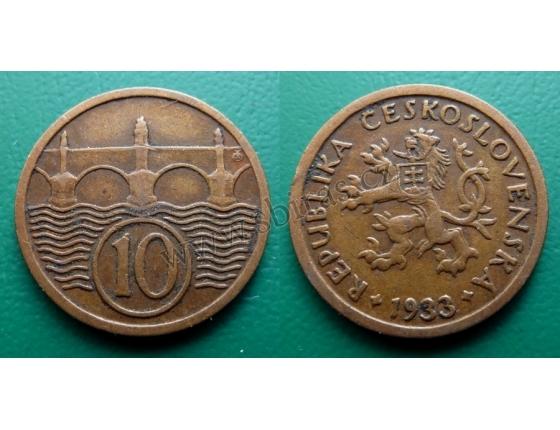 10 haléřů 1933