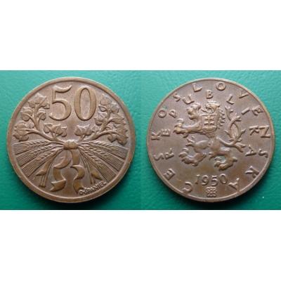 50 haléřů 1950