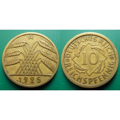 10 Reichspfennig 1925 A
