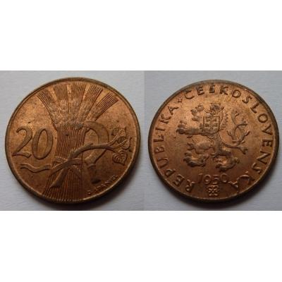 20 haléřů 1950