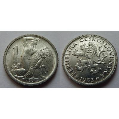 1 koruna 1953 R