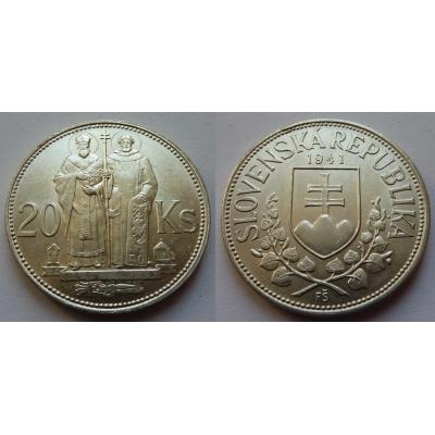 Slovenský štát - 20 korun 1941