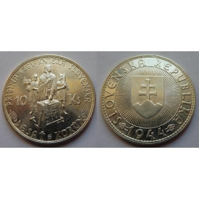 Slovenský štát - 10 korun 1944