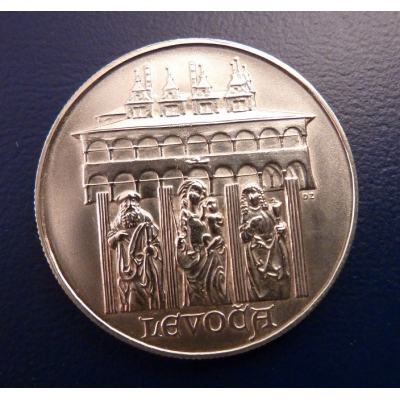 10 korun 1986 Levoča