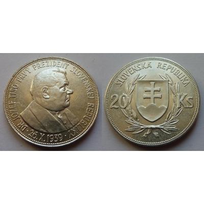 Slovenský štát - 20 korun 1939