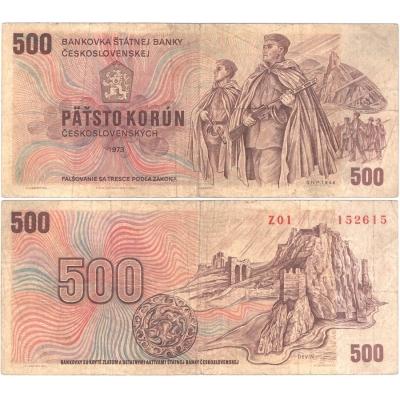 500 korun 1973, série Z01