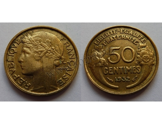 50 centimů 1932
