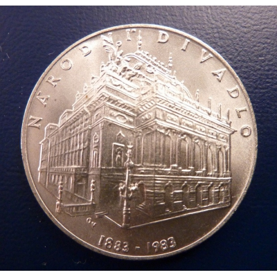 100 korun 1983 Národní divadlo