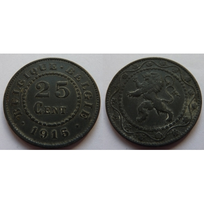 25 Centimes 1915