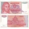 Jugoslávie - bankovka 1 000 000 000 dinara 1993