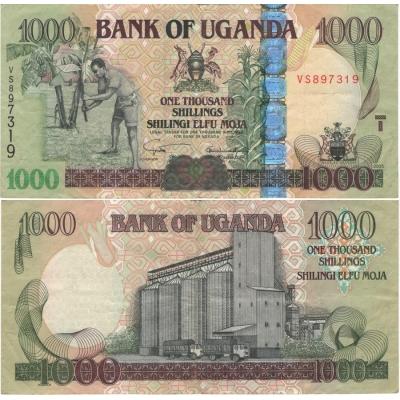 Uganda - bankovka 1000 shillings