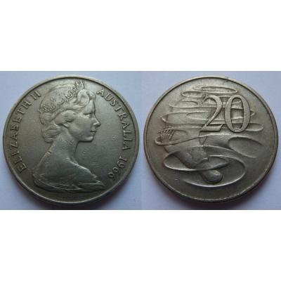 Austrálie - 20 cents 1966