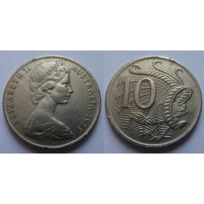 Austrálie - 10 cents 1975