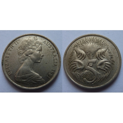 Austrálie - 5 cents 1981