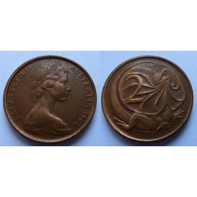 Austrálie - 2 cents 1968